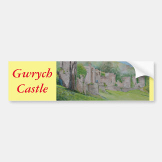 Gwrych Castle Bumper Sticker