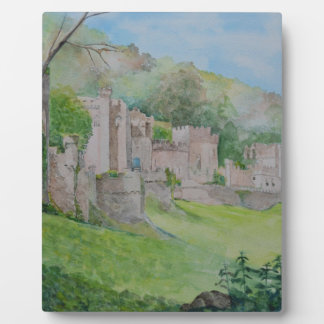 Gwrych Castle Plaque