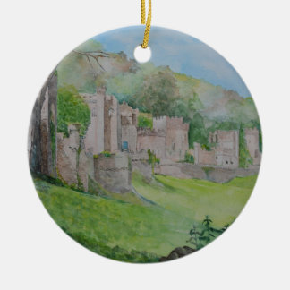 Gwrych Castle Round Ceramic Decoration
