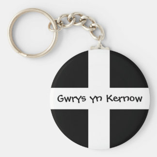 Gwrys yn Kernow - Made in Cornwall Key Ring