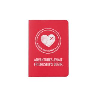 GWT Passport Holder (Red)