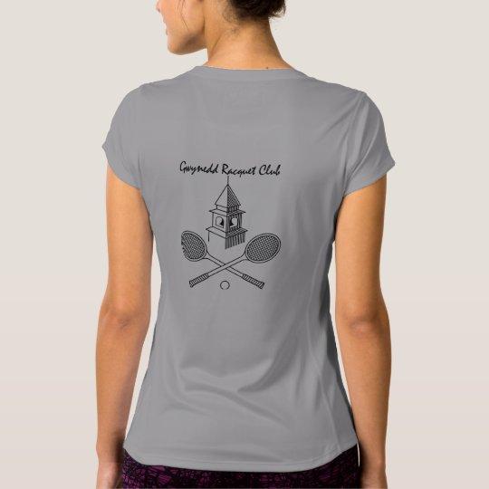Gwynedd Racquet traditional logo women's printed T T-Shirt
