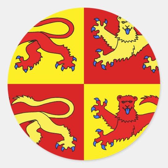 Gwynedd, United Kingdom Classic Round Sticker