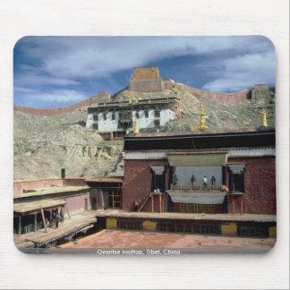Gyantse rooftop, Tibet, China Mouse Pad