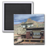 Gyantse rooftop, Tibet, China Refrigerator Magnets