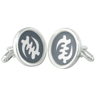 Gye Nyame | God is Supreme Symbol Cufflinks