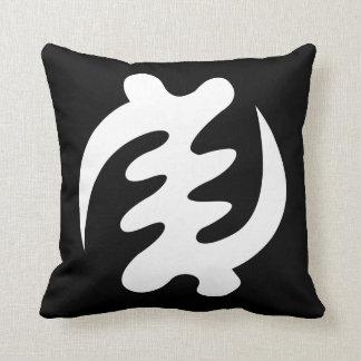 Gye Nyame | God is Supreme Symbol Throw Pillow