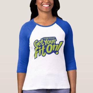 GYFO Fitted Baseball Jersey T-Shirt