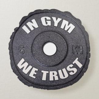 Gym Addict Funny Round Pillow Round Cushion