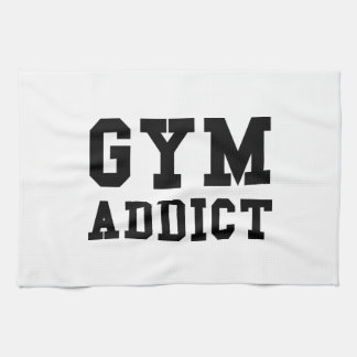 GYM ADDICT TEA TOWEL