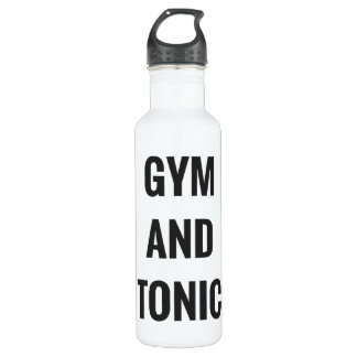 GYM AND TONIC - HYDRATE 710 ML WATER BOTTLE