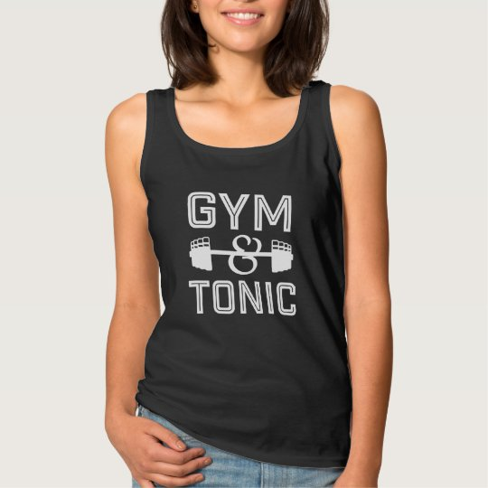Gym and Tonic tank top for women