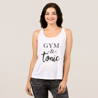 Gym and Tonic Workout Tank Top