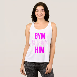 Gym Before Him Tank Top