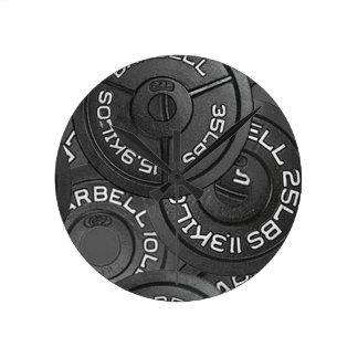 Gym Bodybuilder Wall Clock