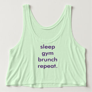 gym & brunch tee