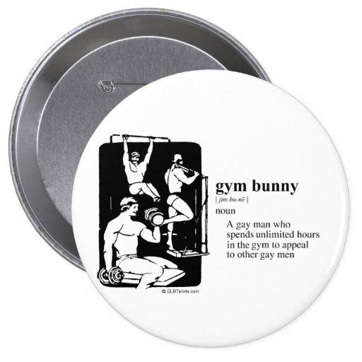GYM BUNNY PIN