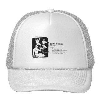 GYM BUNNY TRUCKER HATS