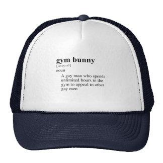 GYM BUNNY MESH HAT