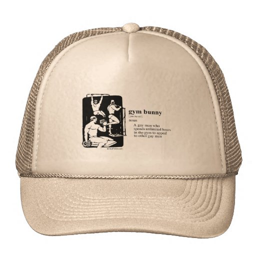 GYM BUNNY TRUCKER HAT