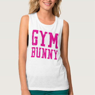 Gym Bunny Pink Tank Top