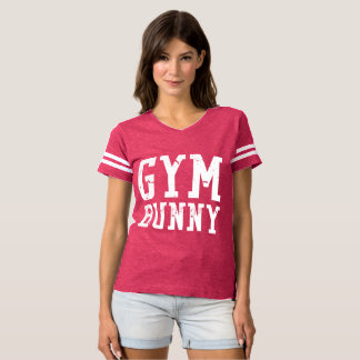 Gym Bunny White Tee
