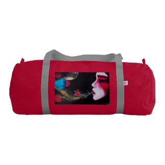 Gym duffle bag 'bubbles' gym duffel bag