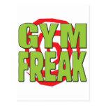 Gym Freak G Postcard