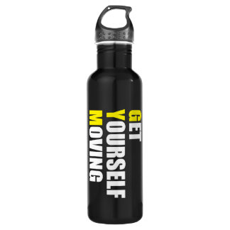 GYM - Get Yourself Moving - Workout Motivational 710 Ml Water Bottle