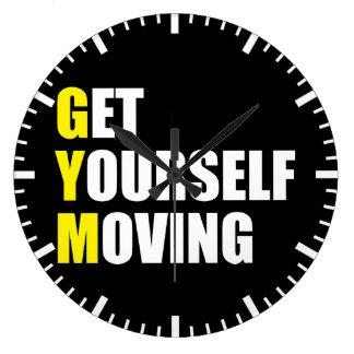 GYM - Get Yourself Moving - Workout Motivational Clocks
