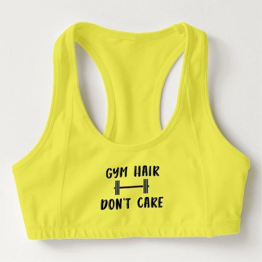 Gym Hair Don't Care Sports Bra