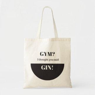 Gym? I Thought You Said Gin