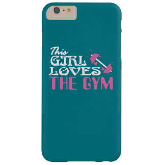 Gym Lover Barely There iPhone 6 Plus Case