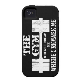 Gym Motivation Vibe iPhone 4 Cases