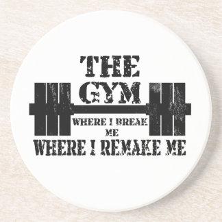 Gym Motivation Beverage Coaster