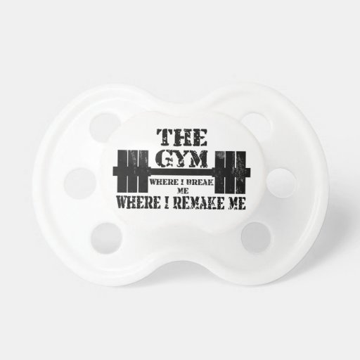 Gym Motivation Pacifiers