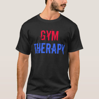"Gym Motivation ""Gym Therapy"" T-Shirt"