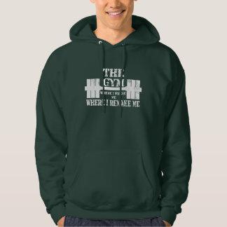 Gym Motivation Hooded Sweatshirt