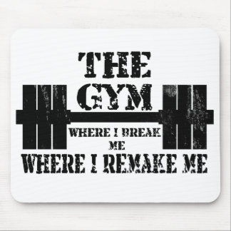 Gym Motivation Mouse Mat