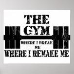Gym Motivation Poster