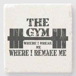 Gym Motivation Stone Coaster