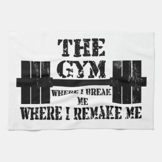 Gym Motivation Tea Towel
