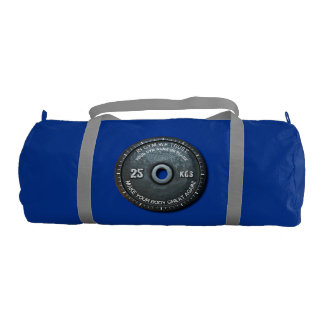 Gym Owner Fitness Workout Vintage Weight Funny Gym Duffel Bag