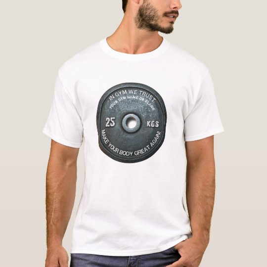 Gym Owner Fitness Workout Vintage Weight Funny T-Shirt