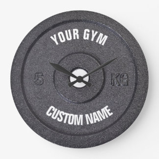Gym Owner or User Funny Clock