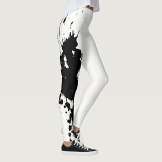 Gym Paint Splatter Sweat It Leggings