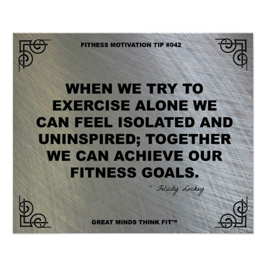 Gym Poster for Fitness Motivation #042