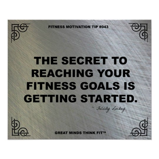 Gym Poster for Fitness Motivation #043