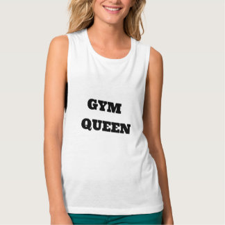 Gym Queen Muscle Tank Top
