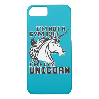 Gym Rat - Gym Unicorn - Bodybuilding Humor iPhone 7 Case